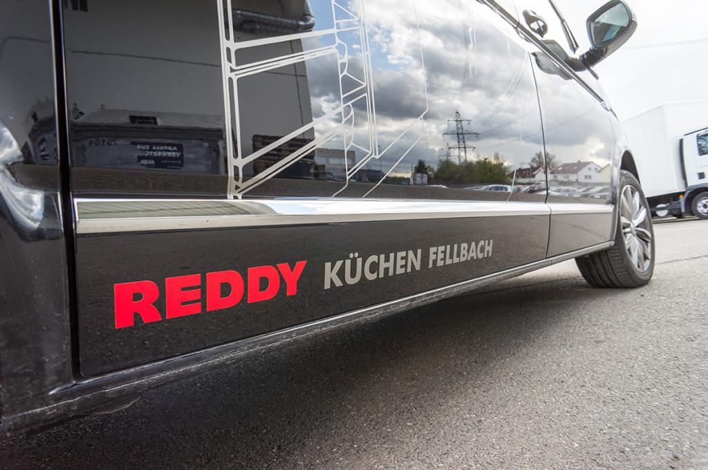 Reddy Fellbach VW T6 – Werbetechnik – Kubach & Klings GmbH