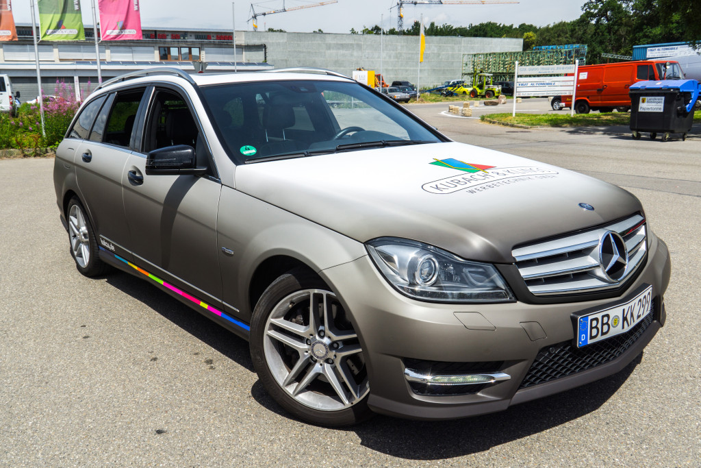 Carwrapping Mercedes 04